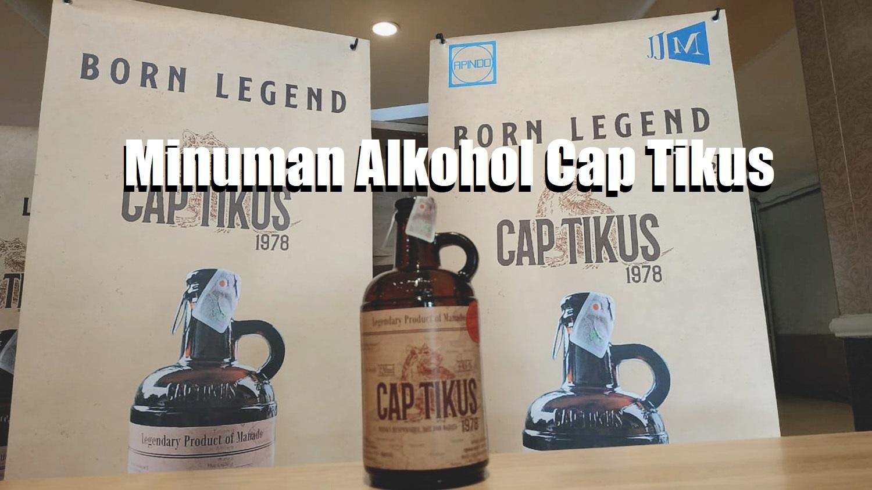 Minuman Alkohol Cap Tikus