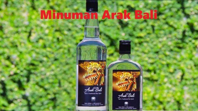 Minuman Arak Bali