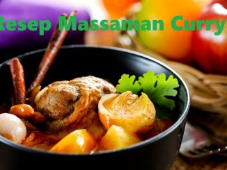 Resep Massaman Curry
